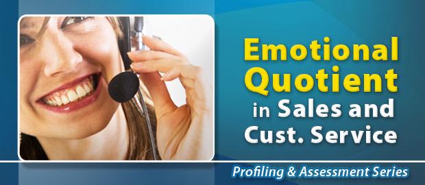Emotional Quotient (EQ) in Sales & Customer Service