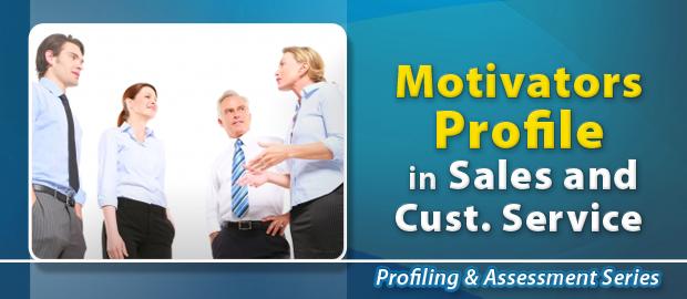 Motivators Profile in Sales & Customer Service